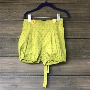 Lacey Lane Pip Suspender Shorts Bloomers 5 NWT